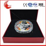 Concevoir la médaille ronde en métal neuf
