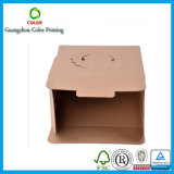 Preiswertes Customized Paper Cupcake Box mit Window