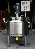 El tanque eléctrico del pasteurizador de la leche del acero inoxidable de la calefacción