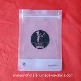 Sacos Ziplock brancos da embalagem do PE de pé transparente novo da venda