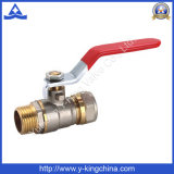 Válvula de bola de latón de rosca de FM con compresión (YD-1041)