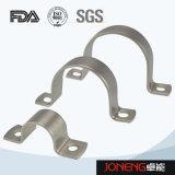 Tipo sanitario sostenedor del tubo (JN-FL2001) del acero inoxidable U