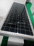 Lampe solaire solaire extérieure de jardin de réverbère de DEL