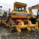 Bulldozer del trattore a cingoli utilizzato bulldozer D7h del cingolo del gatto D7h con lo scarificatore