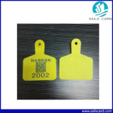 Imported impermeável TPU 75*60mm Animal Ear Tag