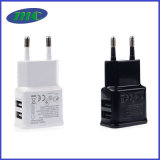 caricatore del USB di alta qualità 2port di 5V1a 5V2.1A