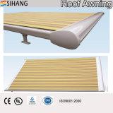Tentes motorisées de toit pour le conservatoire avec le tissu acrylique teint par solution 100%