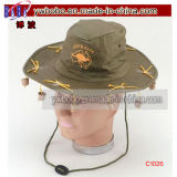 Articles promotionnels C1032A de chapeau de cowboy de chapeau de coton de chapeau de loisirs)