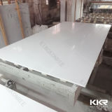 建築材料の純粋で白い人工的な設計された水晶石