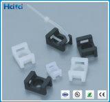 Tipo montajes de la montura de Haitai Nylon66 de la atadura de cables del clip de cable