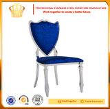 Großhandelsqualitäts-Edelstahl, der Stuhl für niedrige Verkäufe speist
