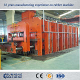 Presse de vulcanisation en caoutchouc de bande de conveyeur avec la construction Xlb-1200*10000 de bâti