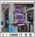 8 colores De alta velocidad Flexo máquina de impresión de rollo de papel (NX-8800 B)