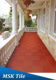 nuevos azulejos rojos de la mina de la terracota 300X300 para el paso