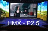 Pantalla video a todo color de interior de la visualización de pared del alquiler LED (P2.5, P3, P4, P4.8, P5)