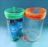Sacchetto piacevole di imballaggio di plastica del PVC del cerchio (YJ-A028)