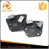 두 배 세그먼트 구체적인 가는 금속 보세품 사다리꼴 다이아몬드