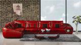 Sofá luxuoso moderno da mobília da sala de visitas (UL-NS420)