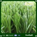 Hierba al aire libre artificial del balompié o hierba del hockey