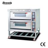 De Oven van de Pizza van het Dek van de Apparatuur van de Machine van het Baksel van de Prijs van de fabriek voor Bakkerij met 2decks 4trays