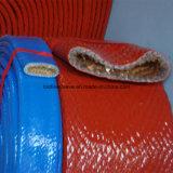 Les silicones de protection de boyau et de câble ont fait face à la chemise d'épreuve d'incendie de fibre de verre
