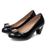 Nuevos zapatos coloridos de los altos talones de la plataforma de las mujeres del sexo de la venta caliente