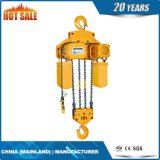 grua Chain elétrica de velocidade 20t dupla com suspensão do gancho