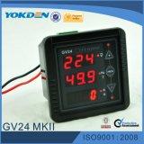 Medidor de voltagem do medidor de medidor de medidor digital Gv24 com certificado Ce