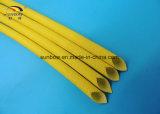 Tensão de avaria Sleeving 1.2-7kv da fibra de vidro de alta temperatura do silicone