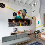 Mural de impresión personalizado de pared, Mural de decoración para el hogar