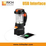 Riflettore e lanterna solari della mano LED con il USB