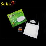 Fabricantes ligeros planos cuadrados del panel de la alta calidad LED