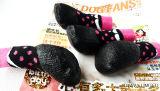 Chaussettes résistantes d'animal familier de sports d'anti souillure de dérapage de PVC d'impression de modèle