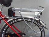 250Wブラシレスモーター36Vリチウム電池赤い電気都市バイク(JSL036A-7)