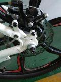 SuntourのXcr空気前部フォークが付いている山Eのバイク