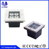 12W LED sepolto illumina 3000k l'indicatore luminoso impermeabile del pavimento LED