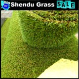 30mmの高さの120stitch低密度の庭の人工的な草