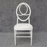 Cadeira Wedding branca de Phoenix com o coxim de assento móvel Yc-A50-02