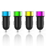 Chaud-Vente du chargeur gauche de pouvoir de véhicule de 2 USB pour le téléphone mobile