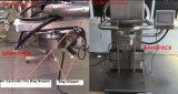 Remplissage battu du tambour gravimétrique semi automatique de foreuse de poudre du malt 1-30kgs