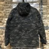 Lange Jasje van de Mensen van het Ontwerp van de camouflage het Recentste met Waterdichte Ritssluiting