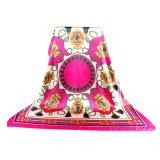 Nuovo quadrato di seta della sciarpa 90X90 di stampa 100% dello schermo per le donne