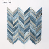 De nieuwe Tegel van het Mozaïek van het Gebrandschilderd glas van de Kunst van Backsplash van de Muur van de Keuken van het Ontwerp