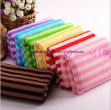 Tovagliolo di pulizia a strisce di Microfiber di colore Yarn-Dyed