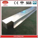 Meneau en aluminium de système de bâton pour la façade de construction