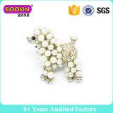 Fancy Decorative Imitation Pearl Brooch Design para Casamento