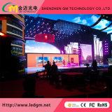 Preço de venda por atacado P2.5 Display de exibição de mídia de mídia interna, USD1080