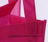 Griff-nicht gesponnene Einkaufstasche mit kundenspezifischer Größe