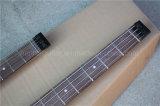 Нот Hanhai/гитара и бас голубой двойной шеи электрическая без Headstock