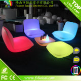 De Ligstoel Sets Made van RGB Fashionalbe Design LED van Plastic